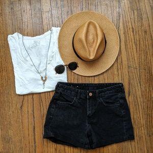 ☀️3 for 30☀️ &Denim Black Shorts